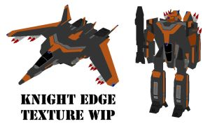 Knight Edge Veritech WIP 2 by MikeTehFox
