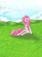 pinkie pie by banananamilk