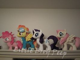My little pony Parade of ponies by Little-Broy-Peep