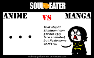 Soul Eater Anime vs. Manga : Gopher by nobodygoddammit