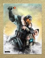 Killzone 3 and PSMove poster by DoomCMYK