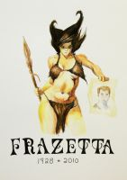 Frazetta Tribute by Zerocool748