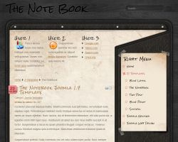 No.09 - The Notebook - Screenshot by NewJoomlaTemplates