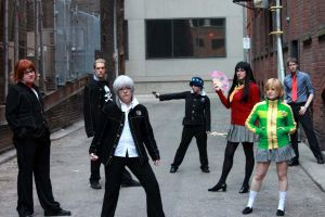 Persona 4 Cosplay Group by Amishanda