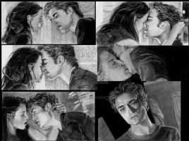 Twilight Window Edward Bella by Catluckey