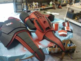 Shepard Armor preview from mass effect 3 by GS-PROPS