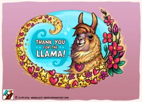 Thank you for the llama by lazy-brush