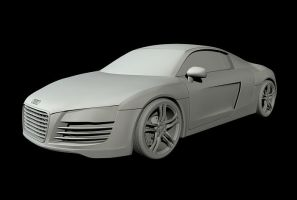 audi r8 clay-update by spittty