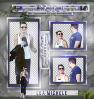 +Lea Michele photopack png by ForeverTribute