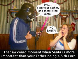 Santa VS. Sith by Storm01535