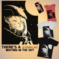 Starcat Tee is real (almost)! by Dr-Manhttan
