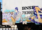 Graffiti Railcar 0154 4-4-13 by eyepilot13