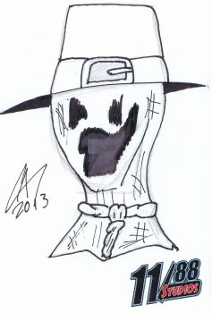 Avery - Scarecrow by powerbomb1411