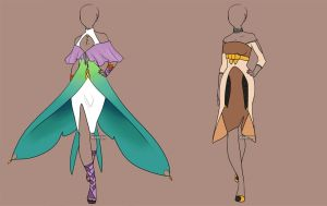 Fashion Adoptables Auction 2 - CLOSED by Karijn-s-Basement
