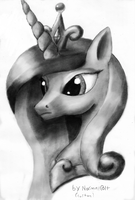 Princess Cadence Portrait 1 By Normlcolt (colton)  by normalcolt