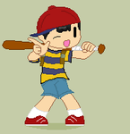 Ness is here by Ca14