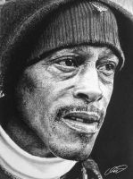 Portrait of a Man Pencil Drawing by derektwilt