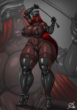 Commission: Mistress Penny by Osmar-Shotgun