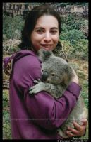Koala and me by TVD-Photography