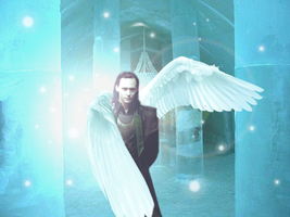 Loki Angel by Narryaque