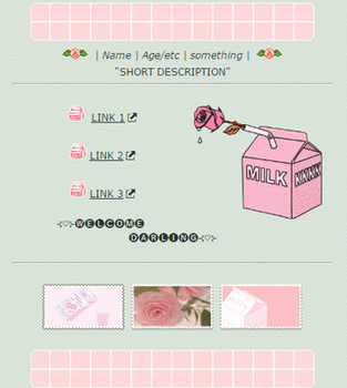 Rose Milk | Non-Core f2u Custom Box by TheCandyCoating