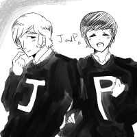 J and P by Appllo83