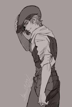 Overwatch - Young Mccree 1 by mangarainbow