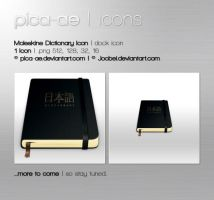 Moleskine Japanese Dictionary by pica-ae