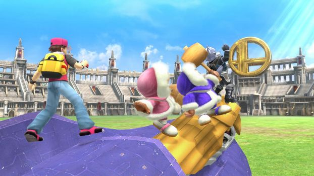 SSB4 Trophy Editor (forgotten characters xd) by antopoke
