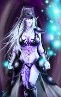 Commission- Nightelf by meganekko-bomb