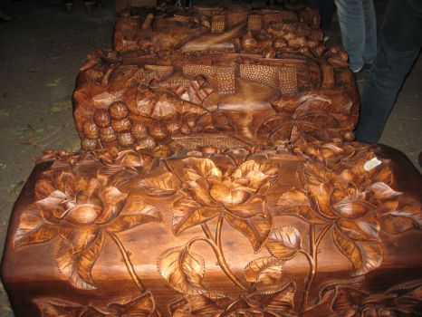 Ornate hand carved cedar chests by cmoyl