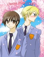 Ouran Host Club by Louie-chan