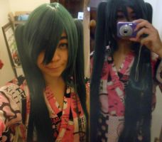 Wig For Miku senbonsakura by Mikux3Cosplay