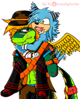 .:Glomp or Piggy back ride:. by ExoToxicImpulse