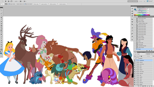 Disney - In Progress 2 by Hyung86