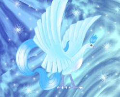 Crystal, Evolved Articuno. by Articuno