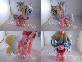 MLP OC Rubio Pincushion by Little-Broy-Peep
