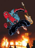 The Anarchic Spiderman by mdavidct