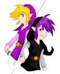 Colouring-Vio and Shadow Link by Sycrensia by KoroTheSilverWolf