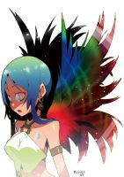 a bird girl of paradise by RyusukeHamamoto