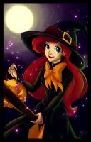 Halloween Ariel by uppuN