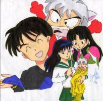 Inuyasha Baby--TRADE by Ginelle13