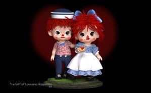 The Gift of Love and Happiness by Dani3D