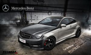 Mercedes C Class Coupe 2012 by yasiddesign