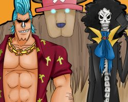 Commission : One Piece Crew 1 by ChainHanami