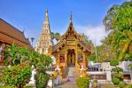 Wat Chedi Liam Temple, Chiang Mai, Thailand by Aishlling