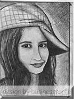 Pencil Art 16 by Mughalkamran