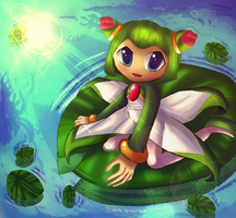 Lily Pad Cosmo by Ini-Inayah