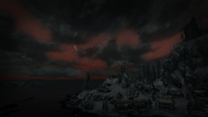 Skyrim at Night by xTiiGeR