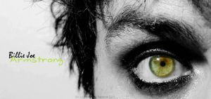 Billie Joe's eye by GabbaGabbaHey247